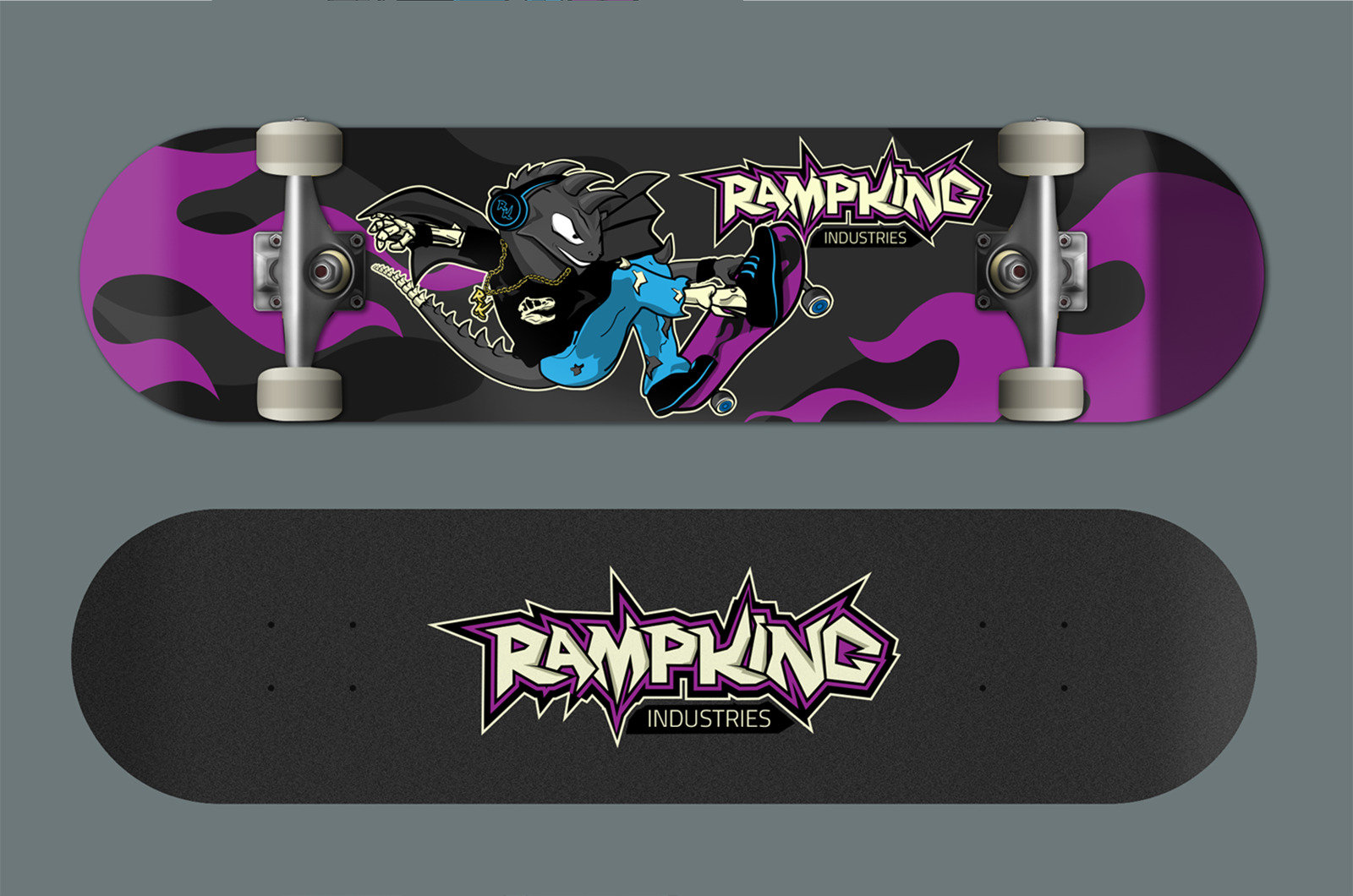 Logo and Character Design – Skate