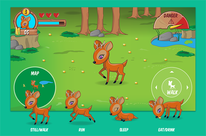 UI – Deer Game