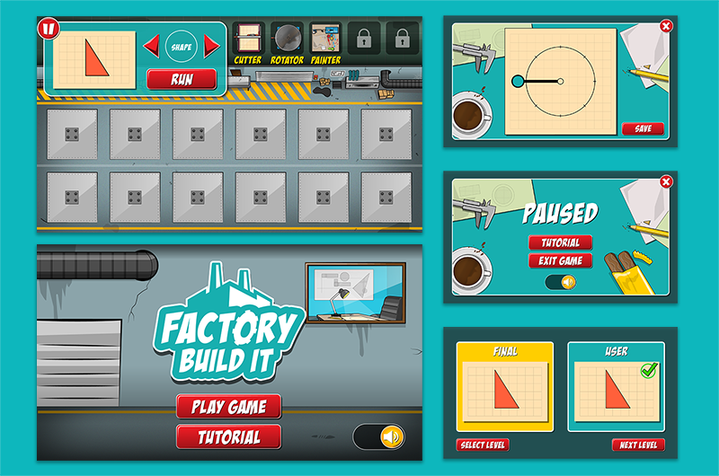 UI – Factory Build it