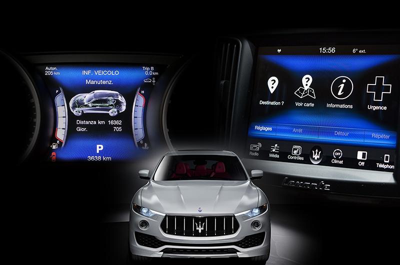 Maserati Levante Infotainment